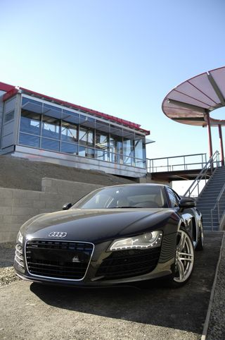 Audi in front of Forum