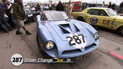 Bizzarrini-driver-change