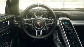 Porsche 918 interior