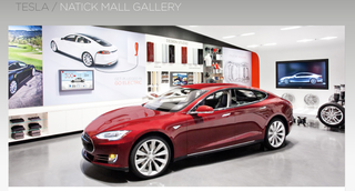 Tesla Model S Natick Mall