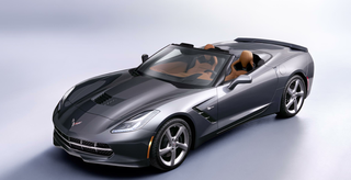 2014 Corvette Stingray convertible,Geneva Motor Show