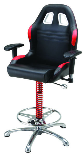 BarChair Red-Blk