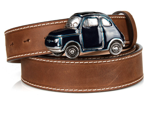 Cinquecento Belt Blue Car