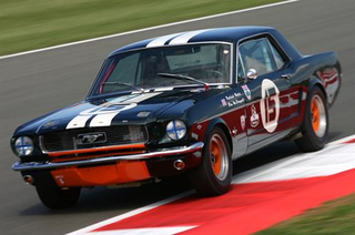 Silverstone Classic mustang