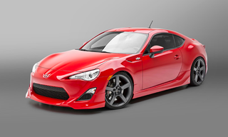2013-14 Scion FRS Body Kit - 4 PC. KIT 1