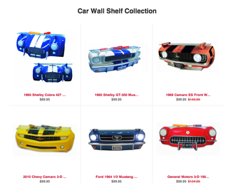 Car Wall Shelves