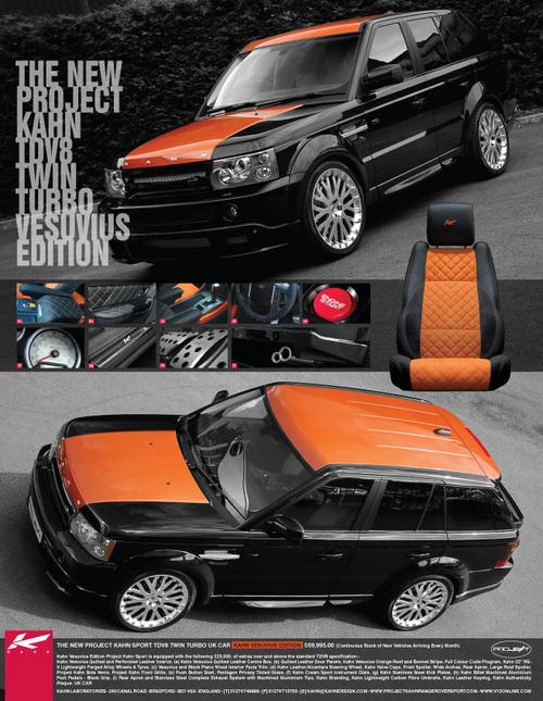 range rover kahn edition